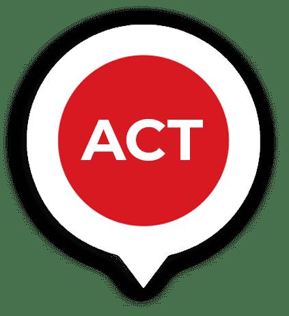 ACT pin