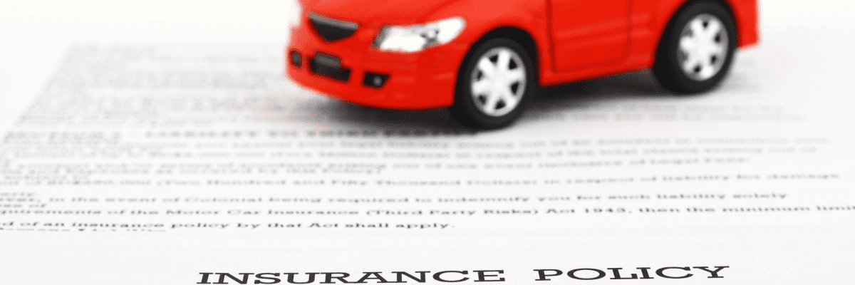 insurance policy with car
